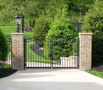 Ornamental Gate Installation
